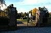foto van Begraafplaats Elisabethstraat: ijzeren begraafplaatshek