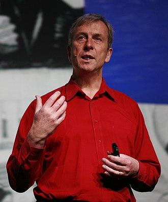 Kevin Warwick - Kevin Warwick in February 2008