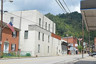 Keystone, West Virginia - U.S. Route 52 in the city's southwest