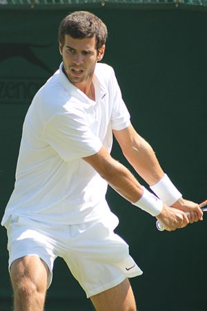 Karen Khachanov - Khachanov at the 2015 Wimbledon Championships