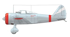 Nakajima Ki-27 - Nakajima Ki-27b of Kenji Shimada, commander of the 1st Chutai of the 11th Sentai, Battle of Khalkhyn Gol June 1939