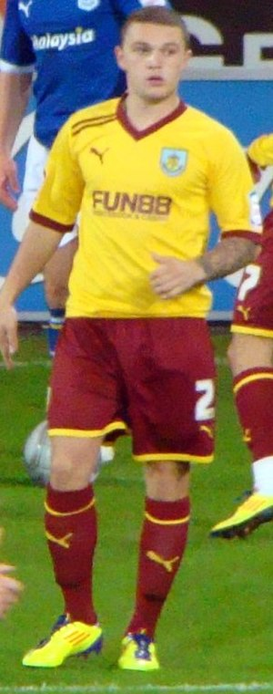 Kieran Trippier - Trippier playing for Burnley in 2011