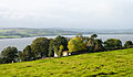 Killydonnell Friary in front of Lough Swilly 2012 09 17.jpg