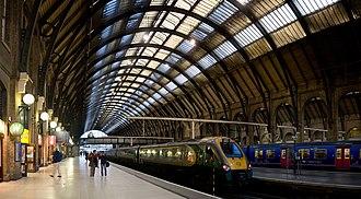 Heath Bunting - London King's Cross railway station.