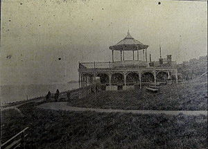 King's Hall, Herne Bay - Almost finished, March 1904