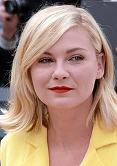 A photograph of Dunst attending the 2016 Cannes Film Festival