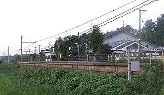 Kiyama Station (Fukui) Railway station in Wakasa, Fukui Prefecture, Japan