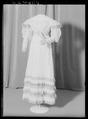 Klänning som tillhört drottning Josefina - Livrustkammaren - 53280.tif