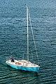 Klagenfurt Woerthersee Maria Loretto Segelboot 20042017 5061.jpg