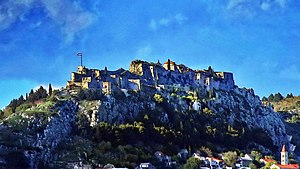 Fortress of Klis - A view from the south-west at late afternoon