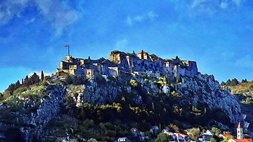Klis Fortress - a view from south-west
