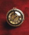 Klocka, T Tompion, ca 1680 - Livrustkammaren - 47602.tif