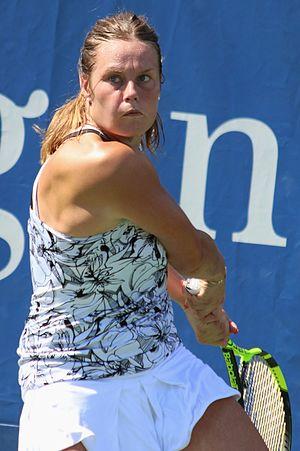 Karin Knapp - Knapp at the 2016 US Open