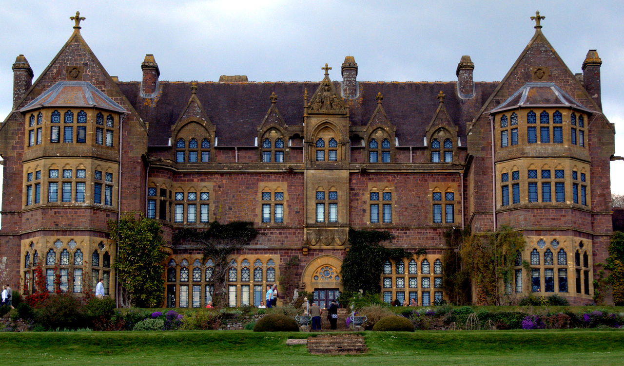 File Knightshayes Court Near Tiverton Devon England