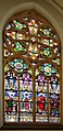Kościół św. Jana Chrzciciela w Raciborzu - witraż autorstwa Otto Lazara.JPG