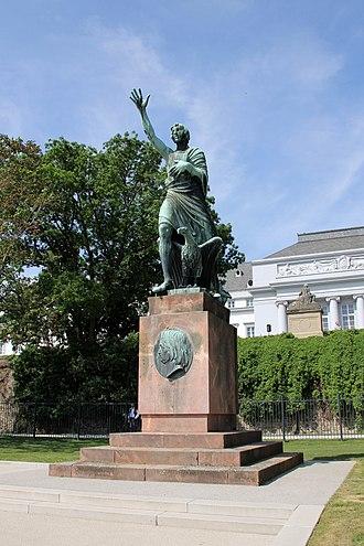Joseph Görres - Joseph-Görres-Memorial in Koblenz