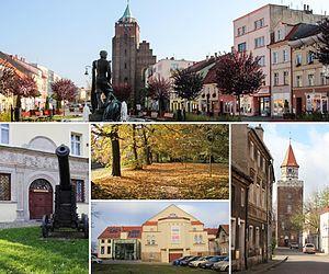 Chojnów - Market Square, Castle, Park, Cultural center, Weavers Tower