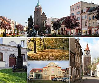 Chojnów Place in Lower Silesian, Poland