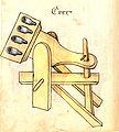 Konrad Kyeser, Bellifortis, Clm 30150, Tafel 13, Blatt 74v (Ausschnitt).jpg