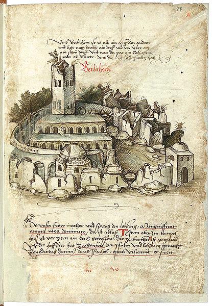 File:Konrad von Grünenberg - Beschreibung der Reise von Konstanz nach Jerusalem - Blatt 47r - 099.jpg