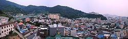 Skyline of Gwangju Metropolitican City