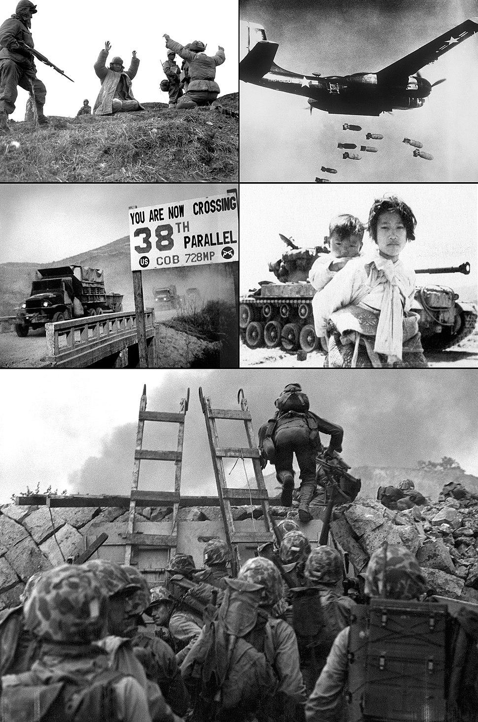 Koreanwarmontage