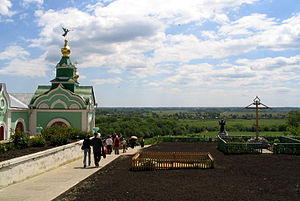 Kursk Oblast - An Orthodox monastery where Our Lady of Kursk used to be located