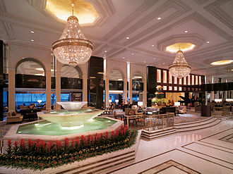 Kowloon Shangri-La - Kowloon Shangri-La Hotel lobby