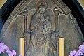Krakovska kapelica - the Gothic relief of Madonna and Child.jpg
