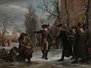 Batavian Revolution - Patriot troops, 18 January 1795.