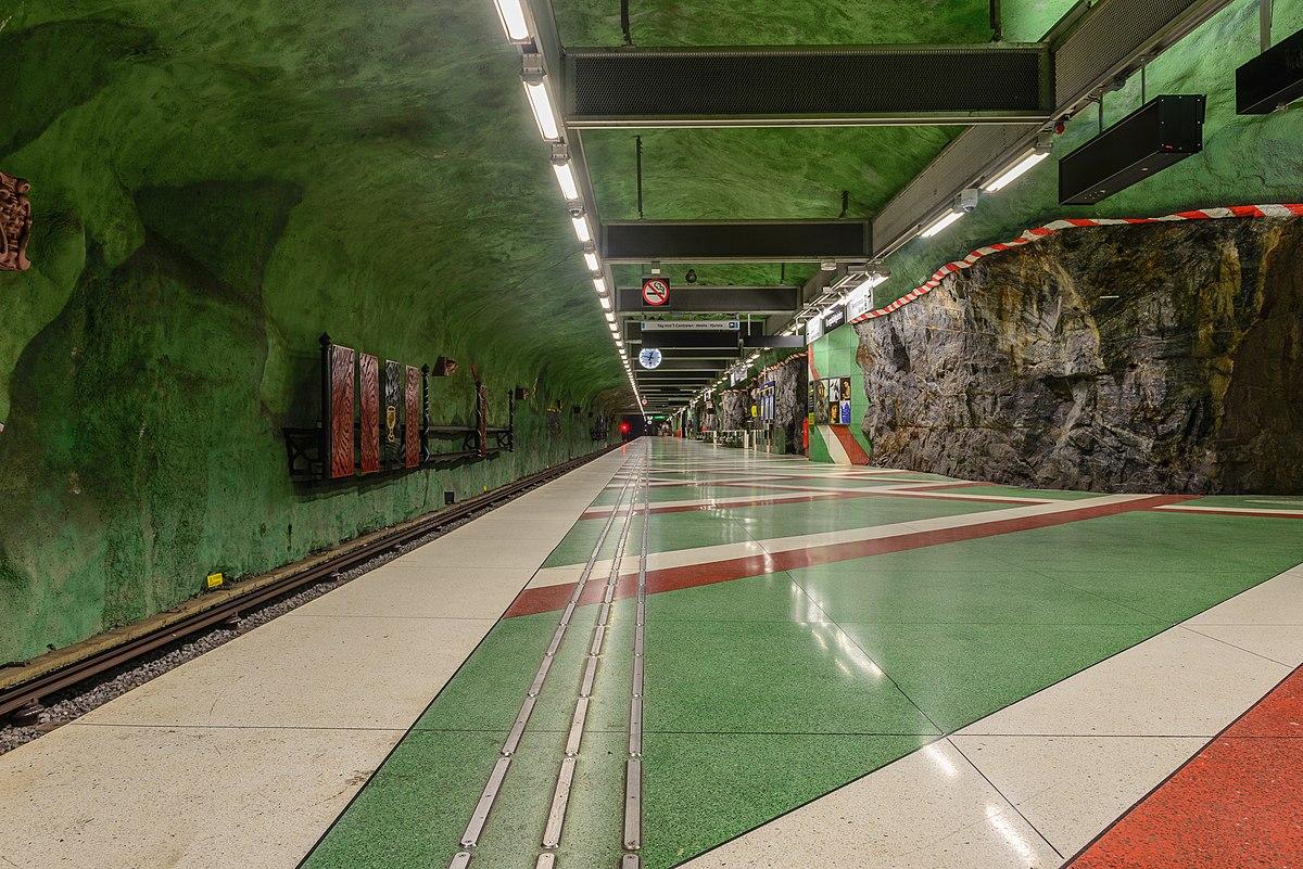 Kungsträdgården metro station - Wikipedia