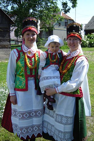 Mazovia - Folk costumes from Kurpie subregion