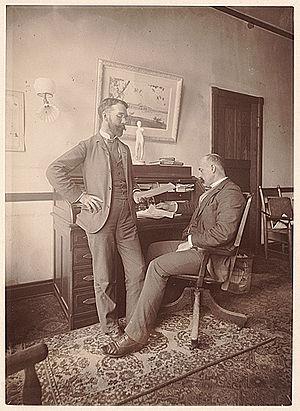 Halsey Ives - Ives and Charles M. Kurtz, c. 1893