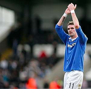 Kyle Lafferty - Lafferty with Rangers in November 2010
