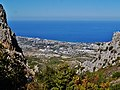 Kyrenia - Girne auf dem Weg zur Burg St. Hilarion 3.jpg