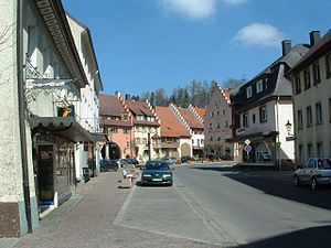 Löffingen - View from the town