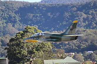 Aero L-39 Albatros - An L-39C Albatros at Wings over Illawarra in 2017