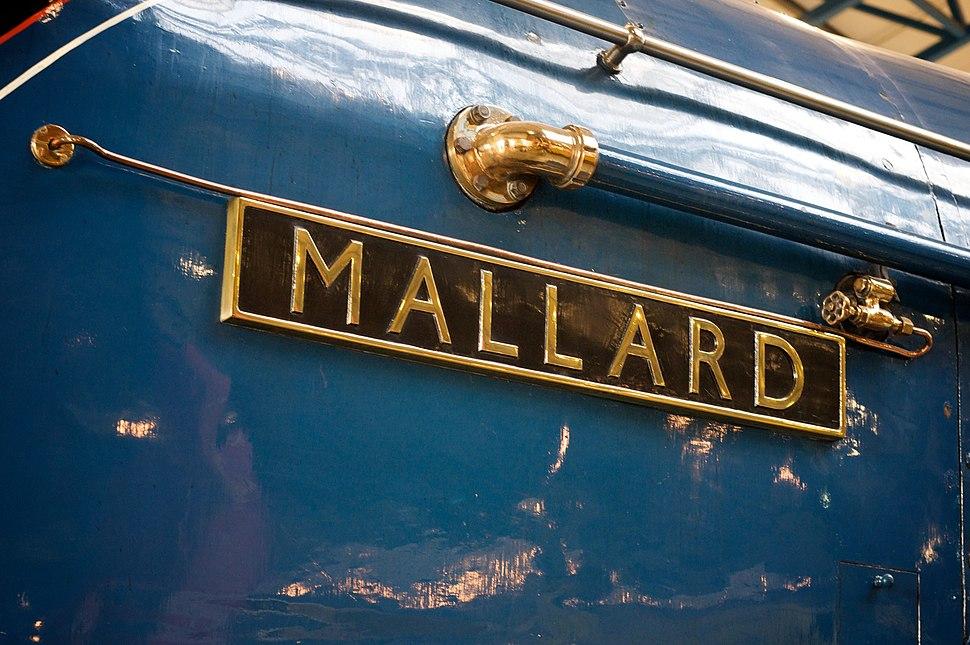 LNER Class A4 4468 Mallard Nameplate