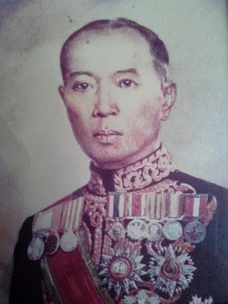 Luang Wichitwathakan - Portrait of Wichitwathakan