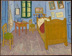 Vincent van Gogh's Bedroom in Arles.