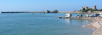 Vingtaine de la Rocque - The harbour of La Rocque formerly sustained a fishing community