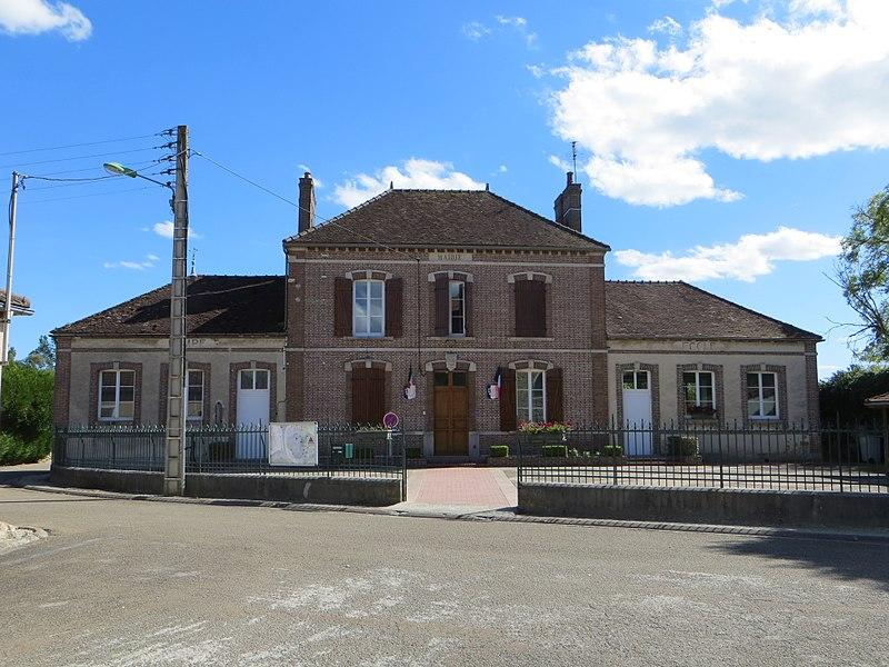 Vue de la mairie