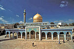 Shrine of Zaynab bint Ali located in Damascus, Syria.