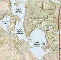 Lake James - Pokagon State Park - Jimmerson Lake.JPG