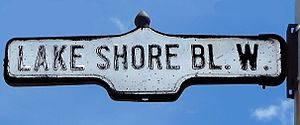 Lake Shore Boulevard - Image: Lake Shore Blvd