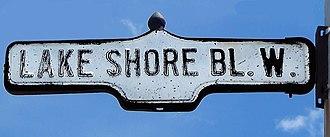 Lake Shore Boulevard - Image: Lake Shore Blvd