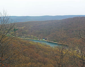Breakneck Brook - Image: Lake Surprise from Breakneck Ridge near Cold Spring, NY,