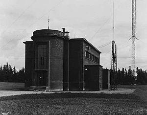 Norkring - Lambertseter Transmitter in 1931