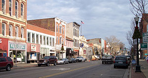 Main Street in Downtown Lancaster