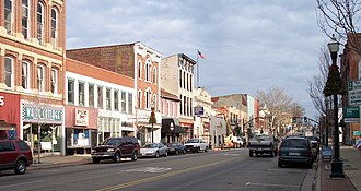 Lancaster, Ohio - West Main Street in downtown Lancaster in 2006